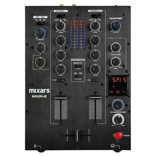 Mixars MXR2 2 Channel DJ Mixer - Top