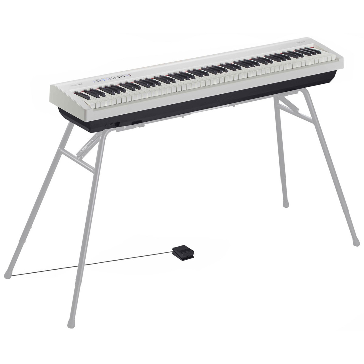 roland fp 30 supernatural digital piano white b stock at. Black Bedroom Furniture Sets. Home Design Ideas