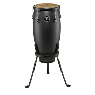 Meinl Headliner Designer 12 Inch Conga, Phantom Black with Stand