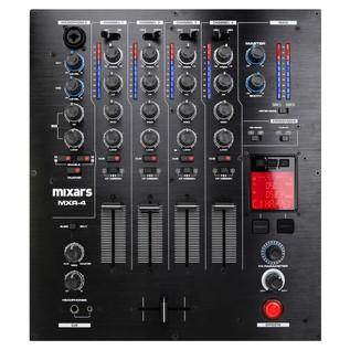 Mixars MXR4 4 Channel DJ Mixer - Top