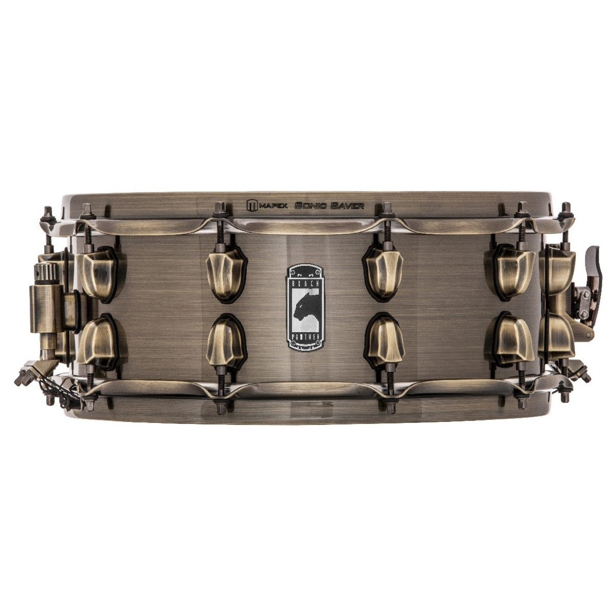 Mapex Black Panther The Brass Cat 14 x 5.5 Brass Snare Drum