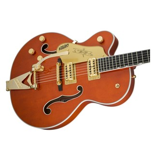Gretsch G6120TLH Players Edition Nashville LH w/ Bigsby, Orange Stain