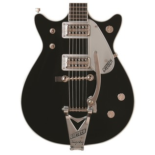 Gretsch G6128T-1962 Duo Jet with Bigsby, Black
