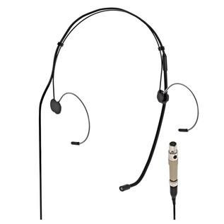 SubZero Black Headset Microphone - AKG Compatible
