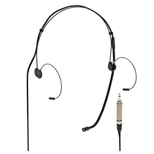 SubZero Black Headset Microphone - 3.5mm Compatible