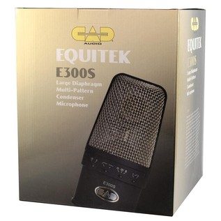 CAD E300S Large Diaphragm Multi-Pattern Condenser - Boxed