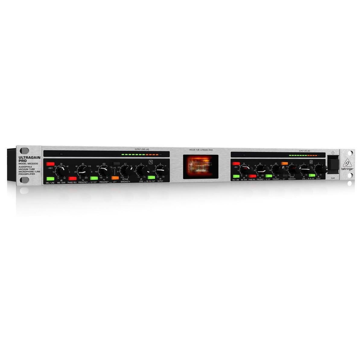 Image of Behringer MIC2200 Ultragain Pro Mic Preamplifier