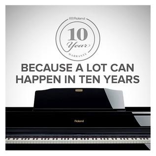 Roland 10 Year Warranty