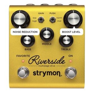 Strymon Riverside Secondary Functions