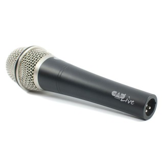 CAD D90 Supercardioid Dynamic Microphone - Angled