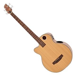 Boulder Creek EBR3-N4LH Acoustic Bass, Left Handed