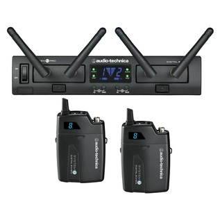 Audio Technica System 10 Pro Dual Wireless Bodypack System