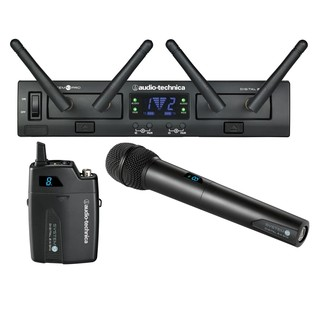 Audio Technica System 10 Pro Dual Wireless BP/HH System