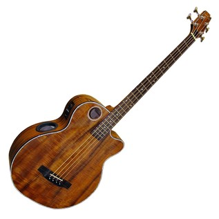 Boulder Creek EBR6 Koa Electro Acoustic Bass, Tobacco Sunburst