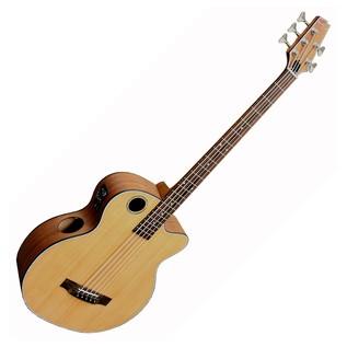 Boulder Creek EBR3 5 String Electro Acoustic Bass, Natural