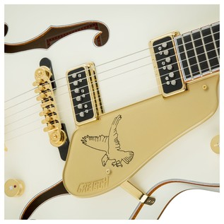 Gretsch G6136 '55 Vintage Select White Falcon, Vintage White Lacquer