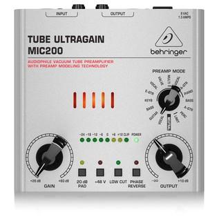 Behringer MIC200 Tube Ultragain Mic Preamp