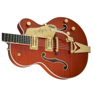 Gretsch G6120TFM Players Edition Nashville with Bigsby, Orange Stain
