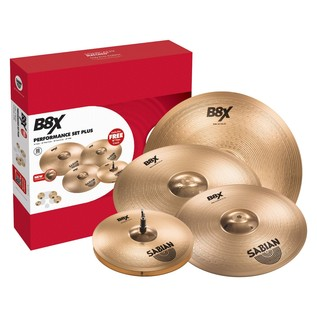 Sabian B8X Performance Cymbal Set With Free 18