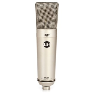 Warm Audio WA87 Condenser Microphone - Front
