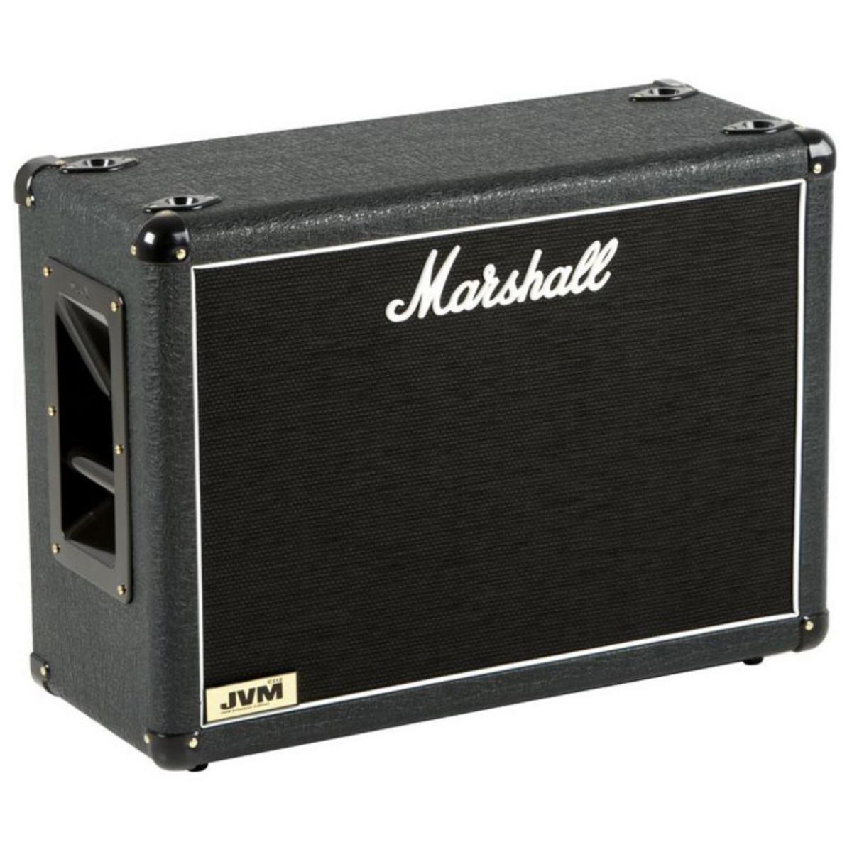 marshall jvmc212 guitar speaker cabinet box opened at. Black Bedroom Furniture Sets. Home Design Ideas