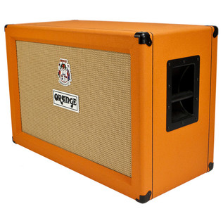 Orange PPC212 2 x 12 Closed Back Cabinet (Front Right)