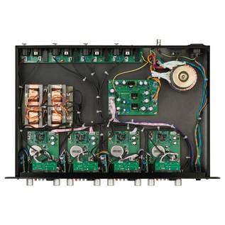 Warm Audio WA-412 4-Channel Pre Amp/DI - Top Open