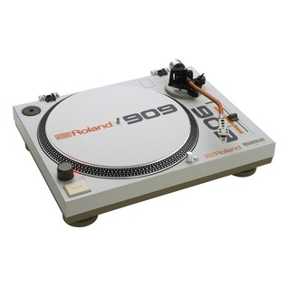 Roland TT-99 Turntable and DJ-99 Mixer Bundle - Turntable Angled