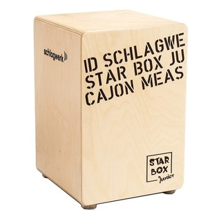 Schlagwerk Star Box Cajon