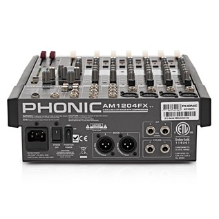 Phonic AM1204FX with Digital FX