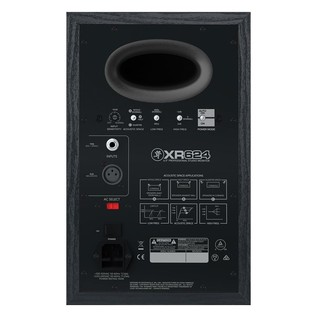 Mackie XR624 Active Studio Monitor Pair - Rear