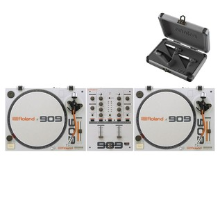 Roland TT-99 Turntable and DJ-99 Mixer Bundle - Bundle