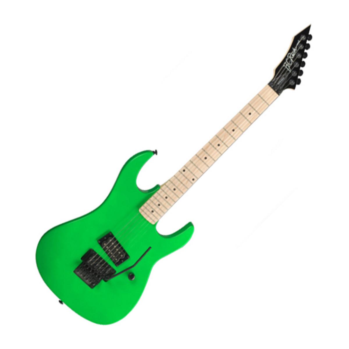 bc rich gunslinger gunslinger guitare retro n on vert b. Black Bedroom Furniture Sets. Home Design Ideas