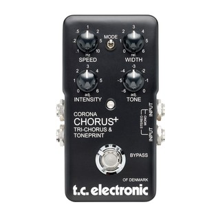 TC Electronic Corona Chorus + Trichorus & Toneprint Pedal