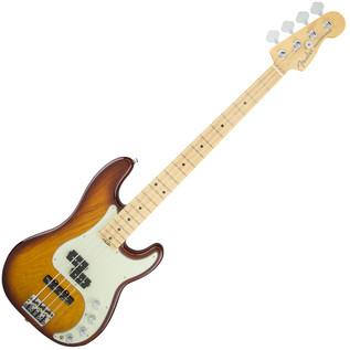 Fender American Elite P-Bass MN, Tobacco Sunburst