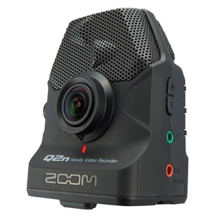 Zoom Q2n Handy Video Recorder - Angled 2