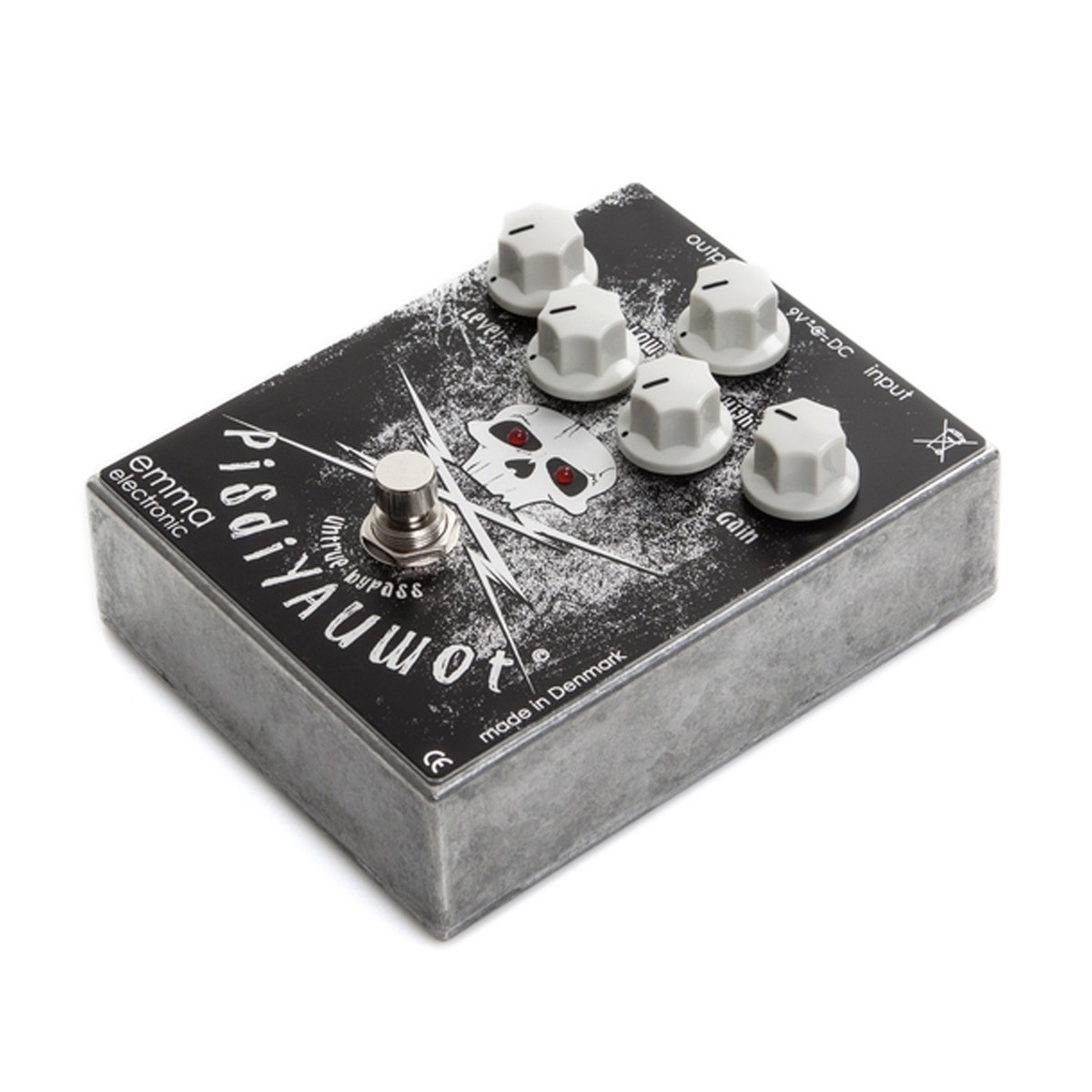 Emma Electronic PisdiYAUwot Metal Distortion Pedal at ...