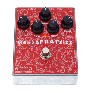 Emma Electronic ReezaFRATzitz Overdrive/Distortion Pedal