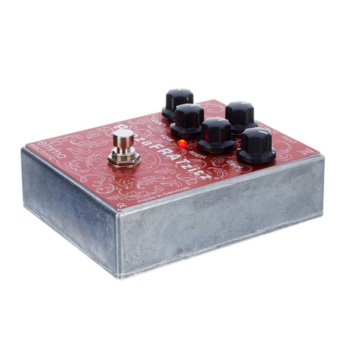 Emma Electronic ReezaFRATzitz Overdrive/Distortion Pedal ...