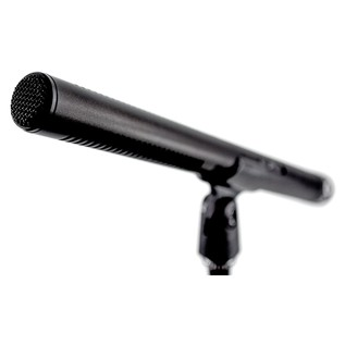 Mode Machines SG-672 Shotgun Mic - Microphone Angled