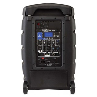 Denon ENVOI-PRO Professional Mobile PA Speaker - Rear