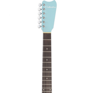 Silvertone 1449 Electric Guitar, Daphne Blue