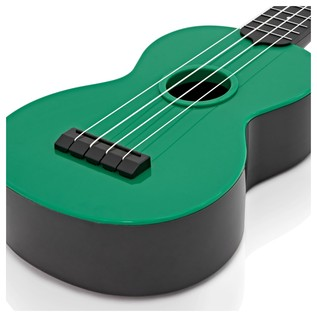 Makala Waterman MK-SWB/GN Soprano Ukulele, Sea Foam Green