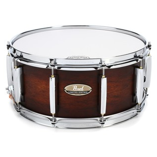 "Pearl Limited Edition 15"" Hybrid Snare Drum, Aged Satin Amber"