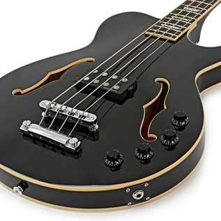 Greg Bennett Royale RLB-4 Bass Guitar, Black
