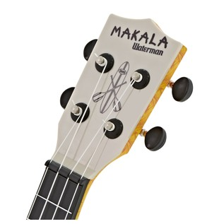 Makala Waterman MK-SWS/OR Soprano Ukulele, Swirl Orange