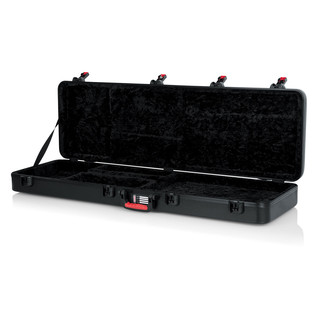 Gator ATA Moulded Guitar Case with TSA Latches for Bass Guitars - Front Open (Empty)