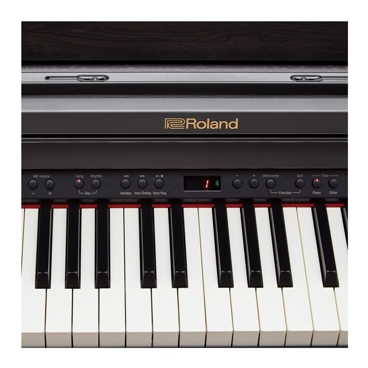 roland rp501r digital piano package contemporary black at. Black Bedroom Furniture Sets. Home Design Ideas