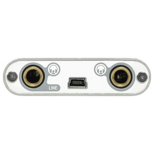 ESI UGM96 Ultra Mobile USB Audio Interface - Rear