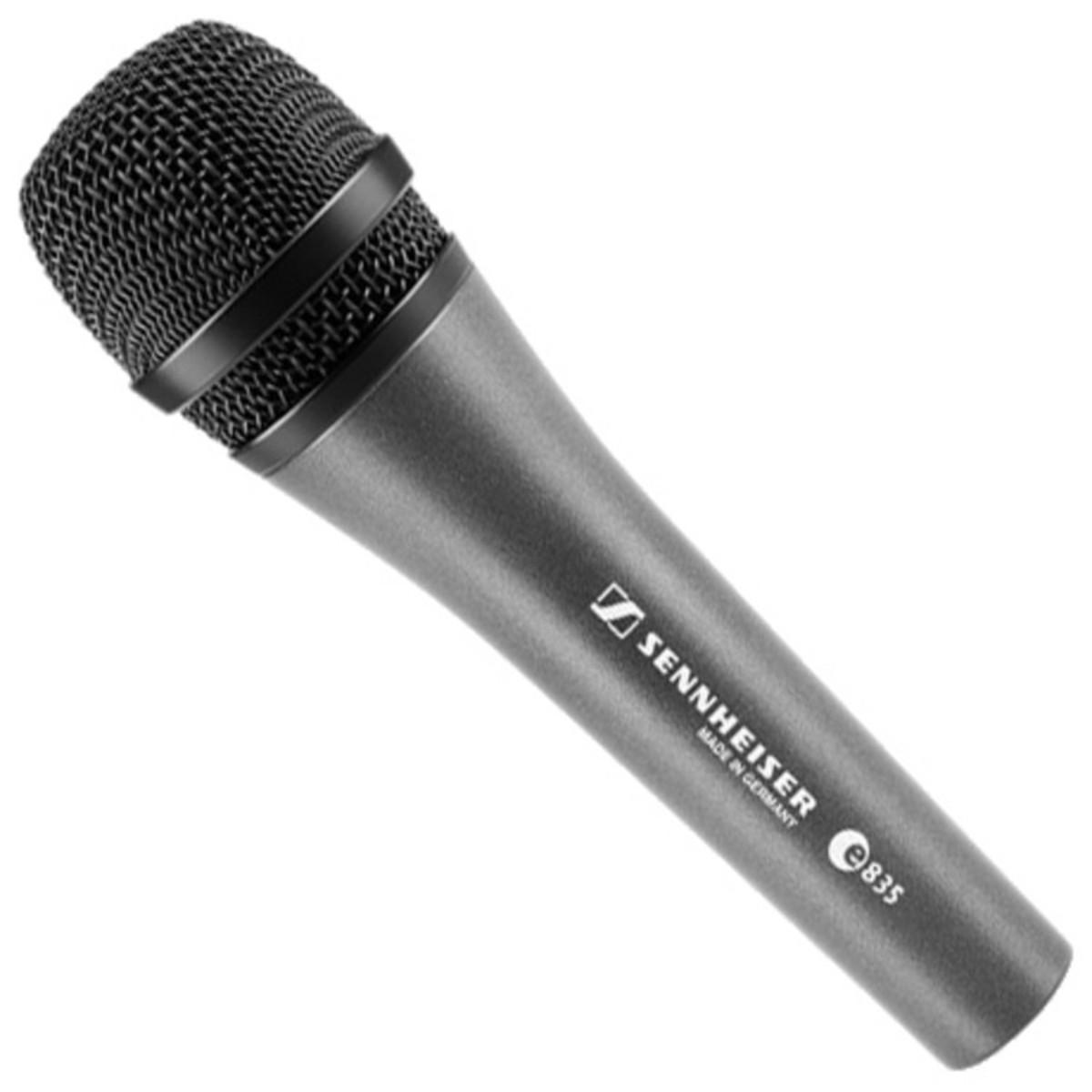 sennheiser e835 cardioid vocal mic box opened at. Black Bedroom Furniture Sets. Home Design Ideas